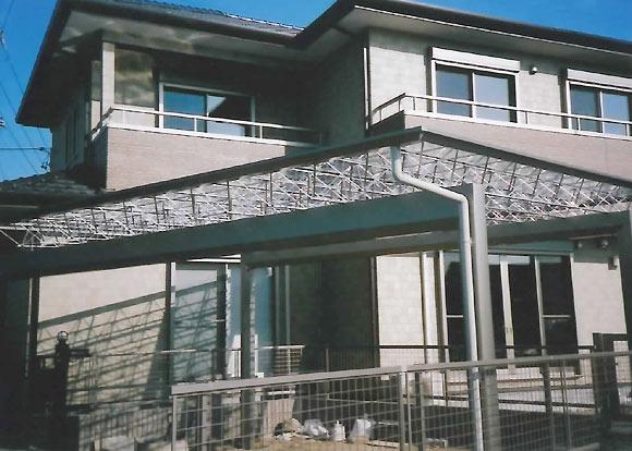 シンプルプランの家
